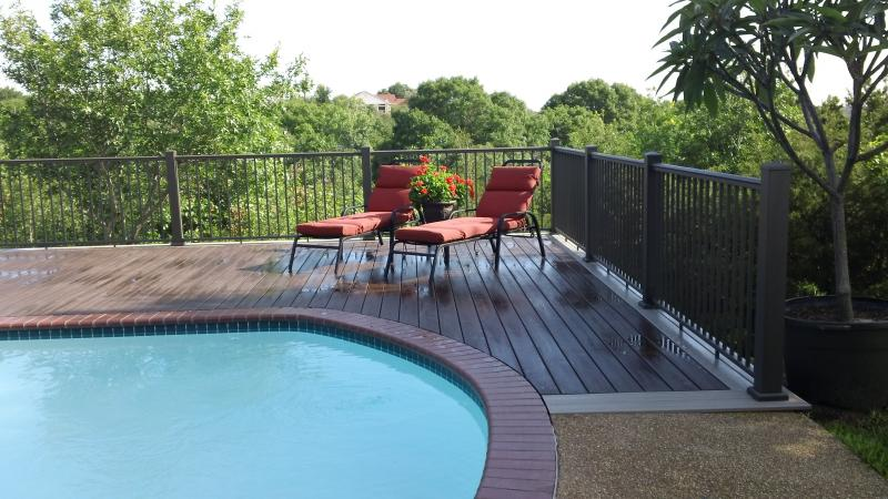 Trex deck, custom decks, trex decking