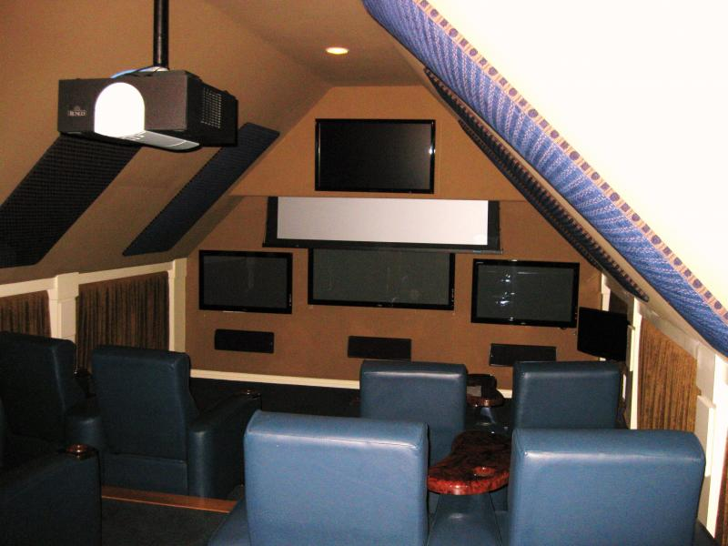 CJ Construction - Custom Theater Rooms